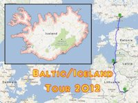Baltic/Iceland Tour 2012