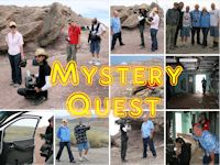MysteryQuest Television Shoot at Green River and Area 51
