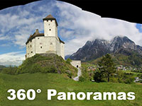 360 Panoramas - High-resolution Photosynths