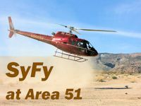 SyFy Television Shoot at Area 51 - 2010