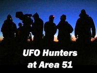 UFO Hunters Television Shoot
